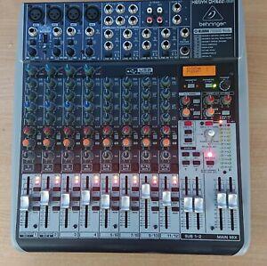 Behringer Xenyx QX1622USB mixing desk with klark teknik fx and usb interface (d)