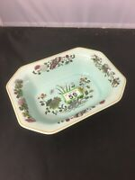 Adams MING JADE Duck Egg Blue Serving Dish
