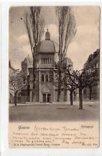 THE SYNAGOGUE, GENEVE: Switzerland postcard (C35854)