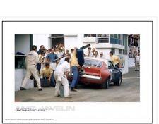 AMC JAVELIN MARK DONOHUE – ST. JOVITE TRANS-AM AUGUST 2, 1970, Racing Car Poster