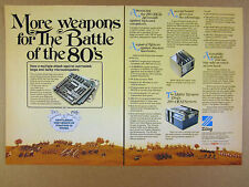 1977 Zilog Z80 Microcomputer Computer System photo vintage print Ad