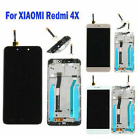 New For Xiaomi Redmi 4X LCD Display Touch Screen Glass Digitizer Assembly+Frame