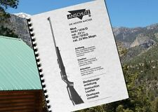 ANSCHUTZ Model 1416 1516 & / D Rifle Owners Manual .22LR & .22 Win Magnum