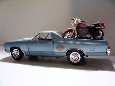 1970 Chevy Elcamino Ute Harley Davidson 2002 XL 1200c Sportsster 1:24 Diecast