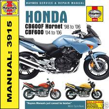 Honda CB600 Hornet CBF600 1998-2006 Haynes Manual 3915 NEW
