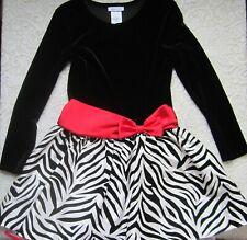 """A Beautiful Black & White """"Bonnie Jean"""" Girls Dress~Size 12"""