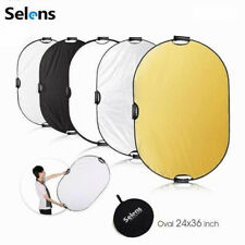 """24""""x35"""" profession 5-in-1 Photo Studio Light Multi Collapsible Oval Reflector"""