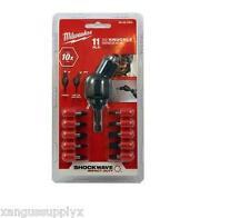 Milwaukee 48-32-2301 Shockwave 30 Degree Knuckle Pivot Bit Adapter Set