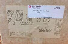 Wheaton 011138 Serum Vials 10ml Clear Glass Supelco 33105u