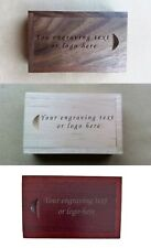 Personalised gift wooden laser engraved 16Gb usb flash drive  with box