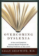 OVERCOMING DYSLEXIA Program for Reading Problems, Sally Shaywitz MD Nr MINT HCdj