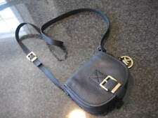 Ladies MICHAEL KORS Black Leather Small Crossbody Bag Purse