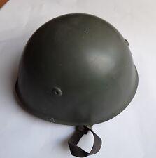 WW2 elmo italiano m33 RICONDIZIONATO soggolo in pelle