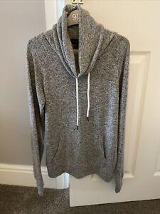 Womens Girls Roll Neck Loungewear Casual Top Grey Size 6