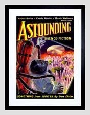 Robot Alien Art Posters