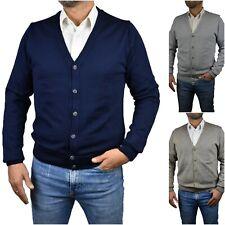 cardigan giacca da uomo lana slim fit maglia scollo a v maglione invernale s m l