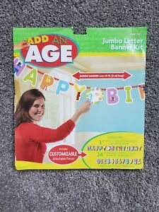 Sesame Street Elmo Add An Age 10 ft Birthday Banner Kit Party Supply Decoration