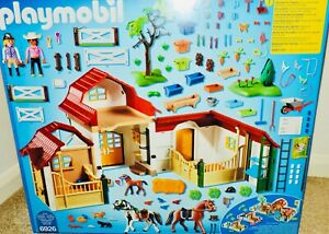 NEW Playmobil Country (6926) LARGE HORSE FARM w/358 Pcs - Many Detailed Accs