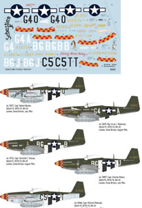 """Eduard Decals D32011 1/32 North-American P-51D-5 Mustang '357th FG"""""""