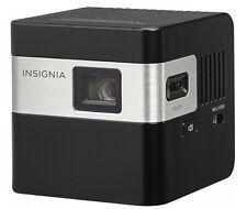 Insignia  DLP Pico Portable Projector  Black  NS-PR116