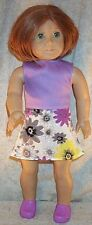 """Doll Clothes fits American Girl 18"""" inch Spring Line 2014 Skirt Top Pink Green"""