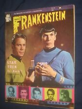CASTLE OF FRANKENSTEIN #14  Star Trek  cvr . FN+