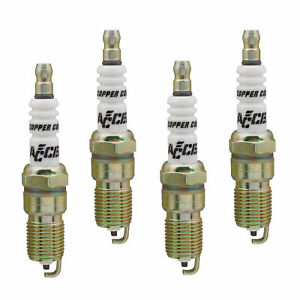 "(4-Pack) Accel 0526-4 Spark Plug 5/8"" 6 Heat HP Copper Spark Plug"