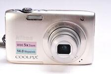 Nikon Coolpix S3100 14MP Compact Digital Camera
