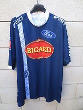 Maillot rugby SU AGEN Asics LNR shirt marine Bigard XL