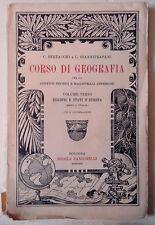 Corso di Geografia per gli istituti tecnici e magistrali inferiori - 1922