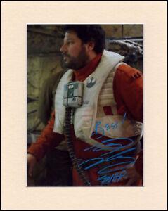 Greg Grunberg Star Wars Snap Wexley Orig Signed 10x8 Mounted Autograph Photo COA