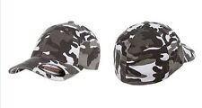 Original Flexfit Camouflage Cap Structured Camo Fitted Hat S/M L/XL 6977CA