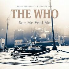 THE WHO -  LIVE 1975 PONTIAC CONCERT CD - Sealed