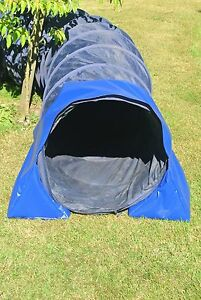 Dog Agility Training Tunnel Sand Bags Indoor Outdoor Apparatus UV PVC 10 Colours