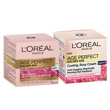L'Oreal Paris Age Perfect Golden Age Day + Night Cream for Mature Skin