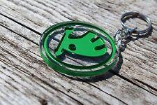 Skoda keychain Yeti Roomster Superb bag accessory porta-chaves schlüsselanhänger