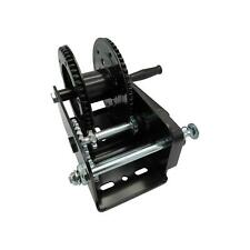 More details for manual hand winch in black finish with brake 600lb - 2500lb (car trailer puller)