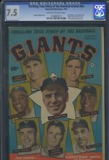 THRILLING TRUE STORY OF THE BASEBALL GIANTS - CGC-7.5, OW-W