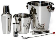 Greatest Bar Set - Cocktail Shaker, Wine Chiller, Ice Bucket, Mix Spoon + More