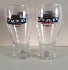 2 X NEW MAGNERS ORIGINAL CIDER PINT GLASSES CE MARKED