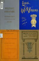23 RARE OLD BOOKS ON WEST VIRGINIA IN CIVIL WAR HISTORY GENEALOGY RECORDS ON DVD