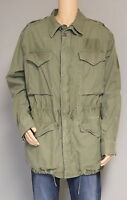 POLO RALPH LAUREN MEN'S OLIVE GREEN MILITARY STYLE COMBAT FIELD JACKET 2XB New