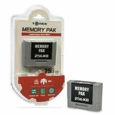 Nintendo 64 Video Game Memory Cards and Expansion Packs