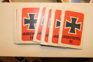 Vintage MB 1963 Dogfight Board Game Jagdstaffel 11 squadron replacement cards