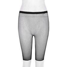 Women Sheer Fine Mesh Fishnet Half Leggings Shorts Pants  See Through Stocking