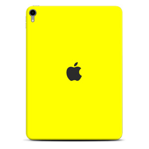 Skins Decal Wrap for Apple iPad Pro 11 2018 Bright Yellow