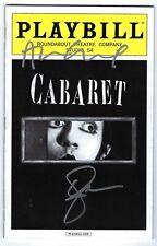 Cabaret Broadway Signed Playbill Alan Cumming and Emma Stone December 2014