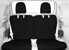 CalTrend Rear 50/50 Split Back and Cushion Custom Seat Covers for Ford Mustang