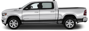 Rocker Panel Vinyl Graphic Decal Stripes for Dodge RAM 1500 2019 & Up