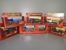 Matchbox Steam Wagon x6 Y27 Foden 1911 Inc Trailer Ltd Edition/Hovis/Guinness